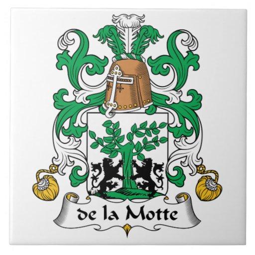 escudo de la Motte Family Teja