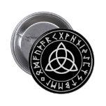 Escudo de la runa de Triquetra Pin