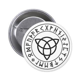 Escudo de la runa de Triquetra Pins