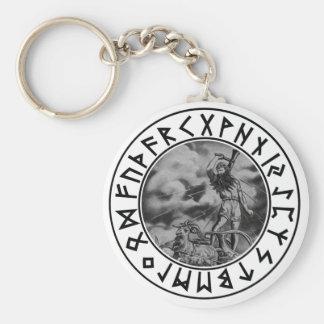 Escudo de la runa del Thor del llavero