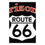 Escudo de la ruta 66 de Arizona Papeleria De Diseño