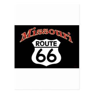 Escudo de la ruta 66 de Missouri Postal