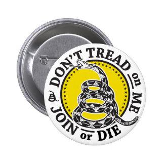 Escudo de la serpiente de Gadsden Pin