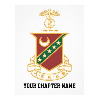 Escudo de la sigma de Kappa Tarjetones