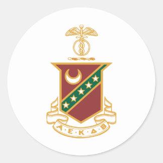 Escudo de la sigma de Kappa Pegatinas