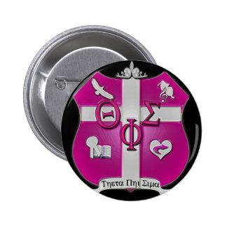 escudo de la sigma de la phi de la theta pin