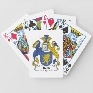 Escudo de lámina de la familia baraja cartas de poker