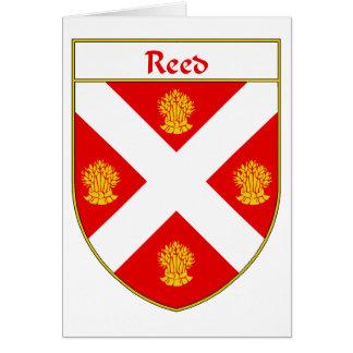 Escudo de lámina del escudo de armas/de la familia tarjeta de felicitación