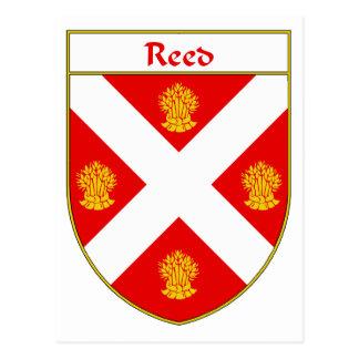 Escudo de lámina del escudo de armas/de la familia tarjetas postales
