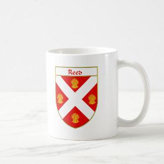 Escudo de lámina del escudo de armas/de la familia taza de café