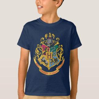 Escudo de las casas de Hogwarts cuatro Playeras