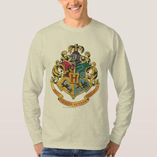 Escudo de las casas de Hogwarts cuatro Remera