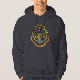 Escudo de las casas de Hogwarts cuatro Suéter Con Capucha
