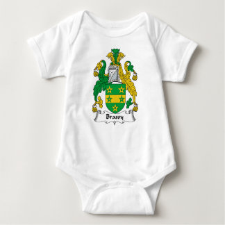Escudo de latón de la familia body para bebé