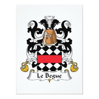 Escudo de Le Begue Family Anuncio