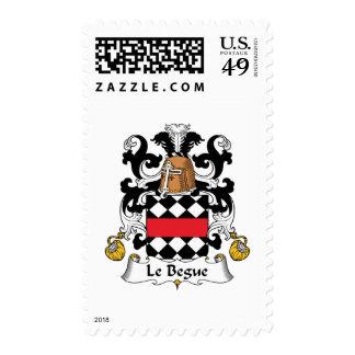 Escudo de Le Begue Family Sello