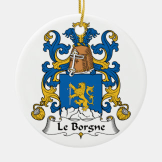 Escudo de Le Borgne Family Adorno