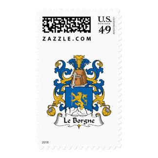 Escudo de Le Borgne Family Sello