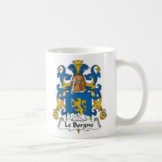 Escudo de Le Borgne Family Taza
