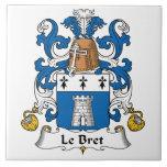 Escudo de Le Bret Family Azulejo
