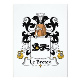 Escudo de Le breton Family Anuncio