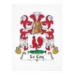 Escudo de Le Coq Family Comunicados Personalizados