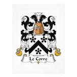 Escudo de Le Corre Family Invitacion Personalizada