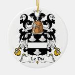 Escudo de Le Du Family Adorno
