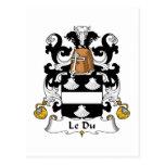 Escudo de Le Du Family Postal