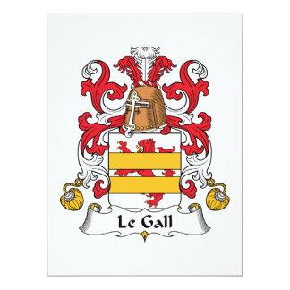 Escudo de Le Gall Family Invitación Personalizada