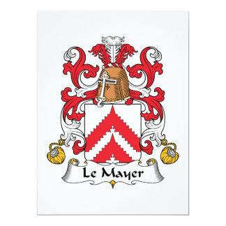 Escudo de Le Mayer Family Comunicados