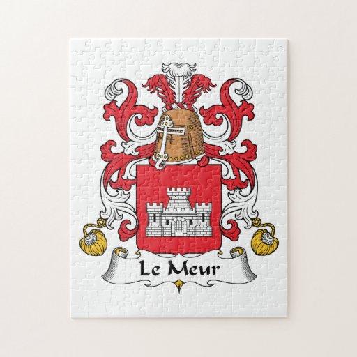 Escudo de Le Meur Family Puzzles