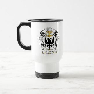 escudo de Leeuw Family Tazas De Café