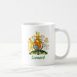 Escudo de Leonard de Gran Bretaña Taza