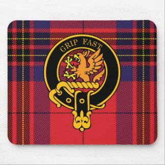Escudo de Leslie y cojín de ratón escoceses del ta Alfombrillas De Ratón