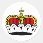 Escudo de Liechtenstein, Liechtenstein Etiquetas Redondas