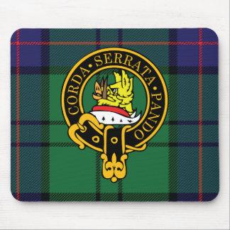 Escudo de Lockhart y cojín de ratón escoceses del  Tapetes De Ratón