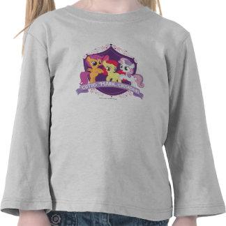 Escudo de los cruzados de la marca de Cutie Camiseta