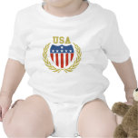 Escudo de los E.E.U.U. Traje De Bebé