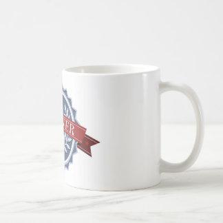 Escudo de los ganadores de la recompensa de la vic taza de café