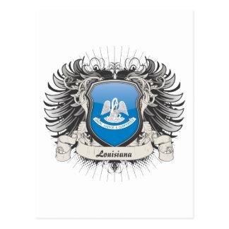 Escudo de Luisiana Postales