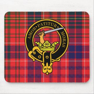 Escudo de Lumsden y cojín de ratón escoceses del t