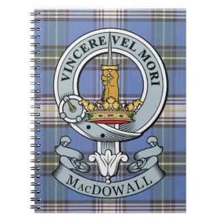 Escudo de MacDowall + Cuaderno del tartán