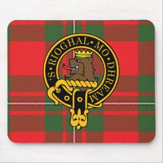 Escudo de Macgregor y cojín de ratón escoceses del Mouse Pads