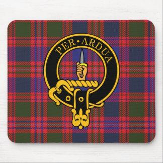 Escudo de Macintyre y cojín de ratón escoceses del Tapetes De Ratón