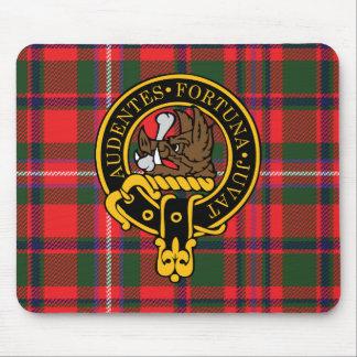 Escudo de Mackinnon y cojín de ratón escoceses del Alfombrilla De Ratón