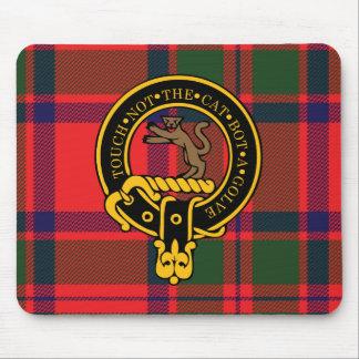 Escudo de Mackintosh y cojín de ratón escoceses de Mousepad