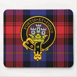 Escudo de Maclachlan y cojín de ratón escoceses de Tapete De Raton