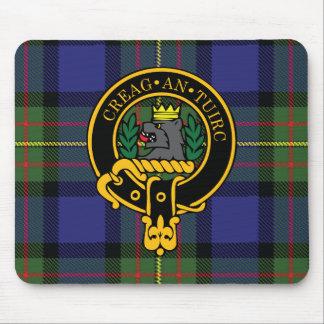 Escudo de Maclaren y cojín de ratón escoceses del