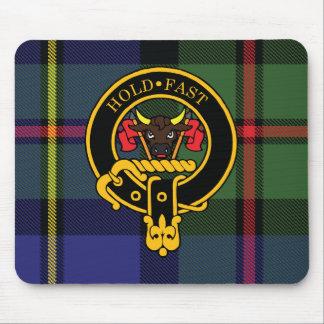 Escudo de Macleod y cojín de ratón escoceses del t Mouse Pads
